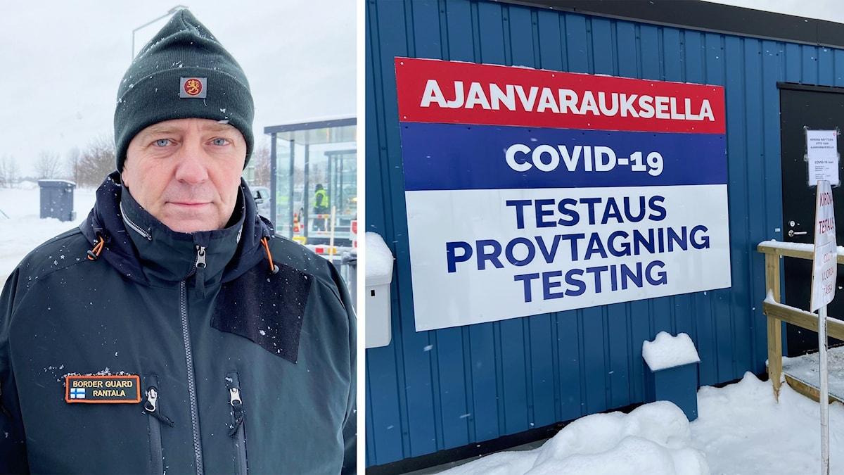 Jari Rantala, premiärlöjtnant gränsbevakningsofficer
