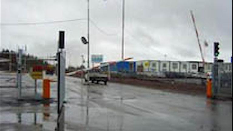 Vitåforsgruvan i Malmberget. Foto: Maritha Mossberg/Sveriges Radio.