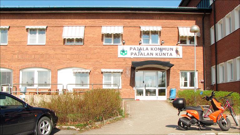 Pajala kommunhus. Foto: Stig-Arne Nordström