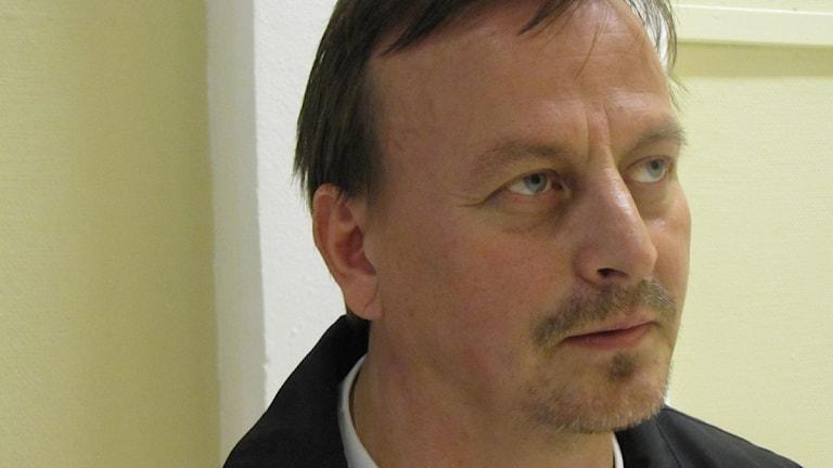 Aron Backman, narkotikapolisen Norrbotten. Foto: Inger Marklund/SR Norrbotten