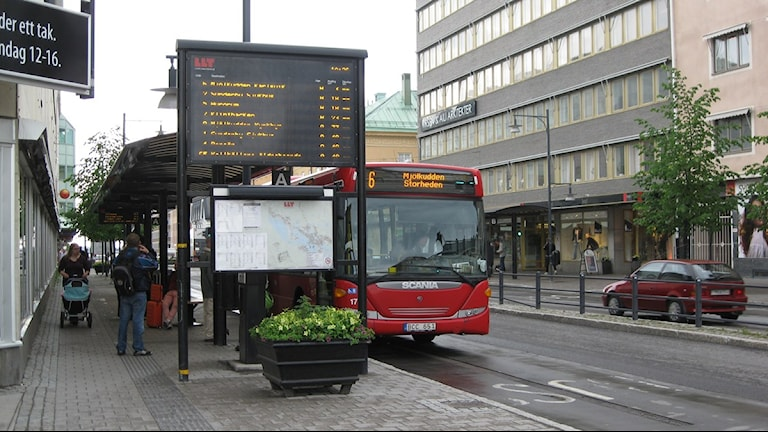 Smedjegatan i Luleå. Foto: Sveriges Radio Norrbotten.