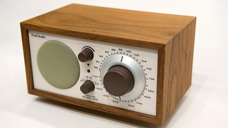 Radioapparat. Foto: Fredrik Sandberg/Sveriges Radio.