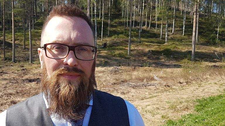 Jonas Johansson, behandlingshemmet Avstampet i Älvsbyn.