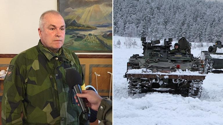 Ställföreträdande regementchef Ulf Siverstedt.