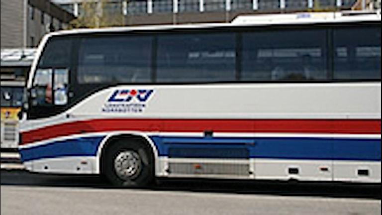 Buss. Foto: Sveriges Radio.