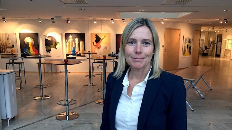 Victoria Arenbro-Forsberg, inköpschef på Region Norrbotten.
