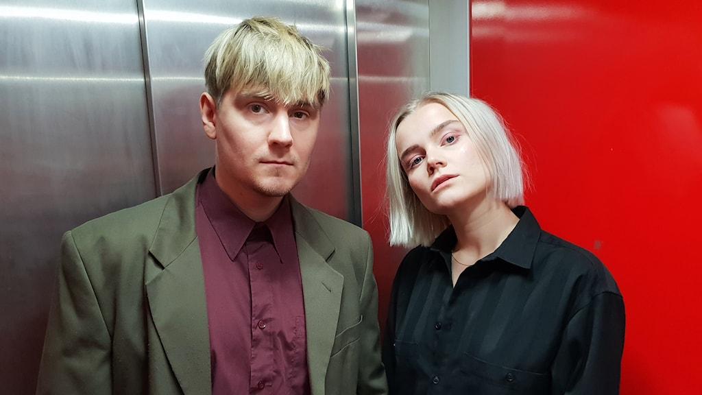 The Magnettes Tomas Bäcklund Tuneström och Rebecca Digervall.