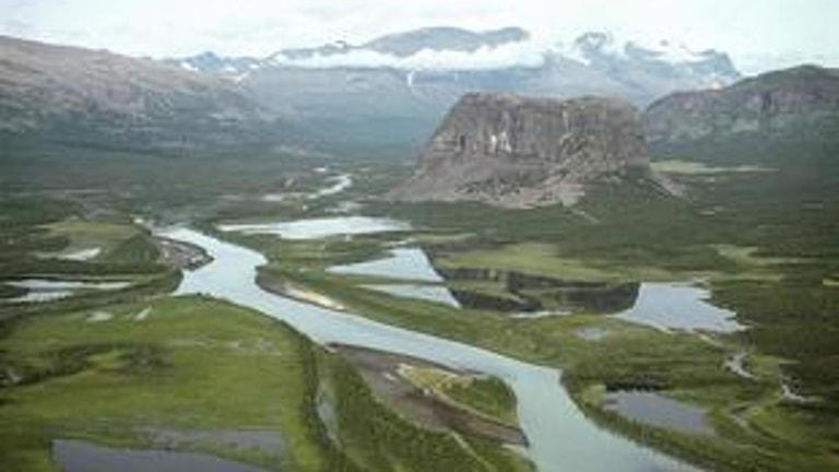 Sareks nationalpark utvidgas enligt förslaget.