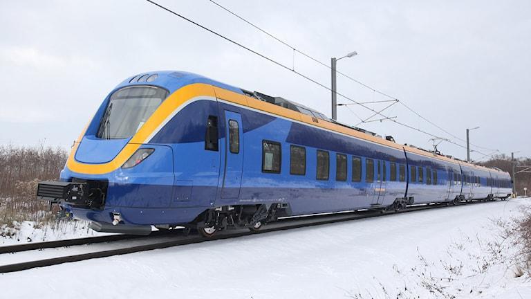 Norrtågs regionaltåg. Arkivfoto: Norrtåg.