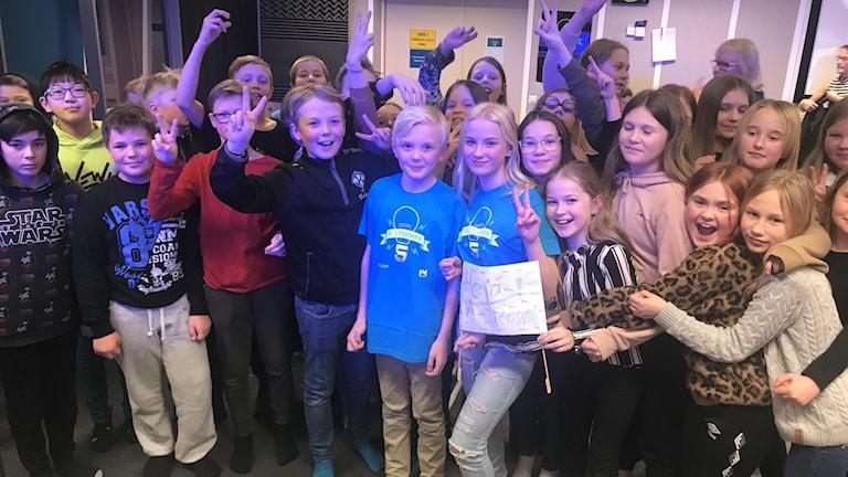 Rosviks skola 5A, Piteå: Alvin Forsell och Jonna Eriksson