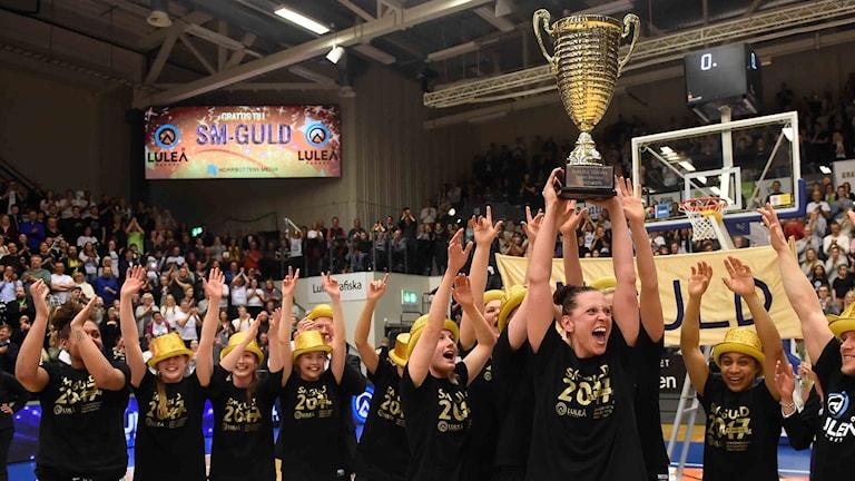Luleå Basket fjärde raka guldet.