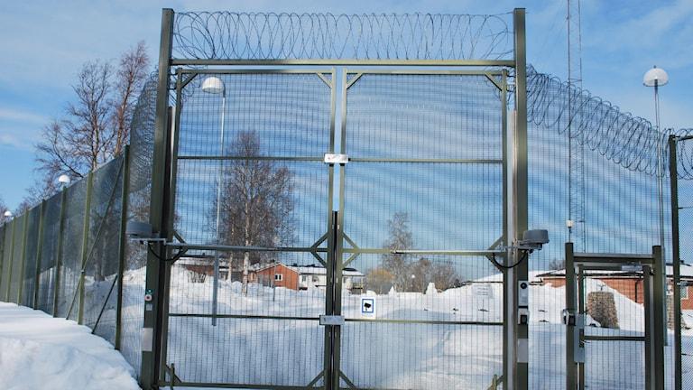Grindarna till ungdomshemmet Johannisberg. foto: Lena Sundqvist / Sveriges Radio.