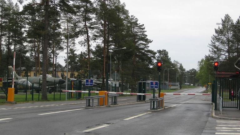 infarten till F21. Foto: P4 Norrbotten/Sveriges Radio
