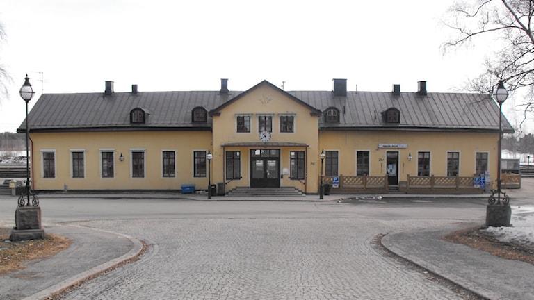 Järnvägsstationen i Luleå. Foto: Emma Brännholm, P4 Norrbotten Sveriges Radio