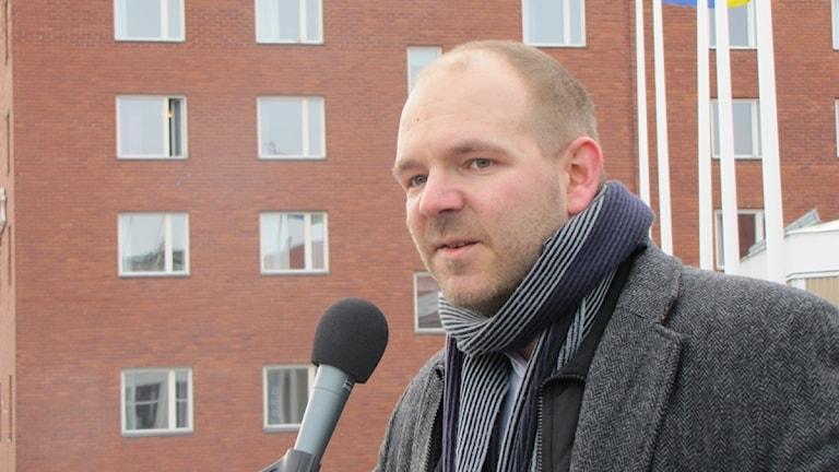 Kirunas vice kommunalråd Niklas Sirén (V).