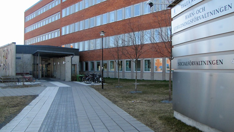 Socialförvaltningen i Luleå kommun. Foto: Eleonor Norgren/Sveriges Radio.