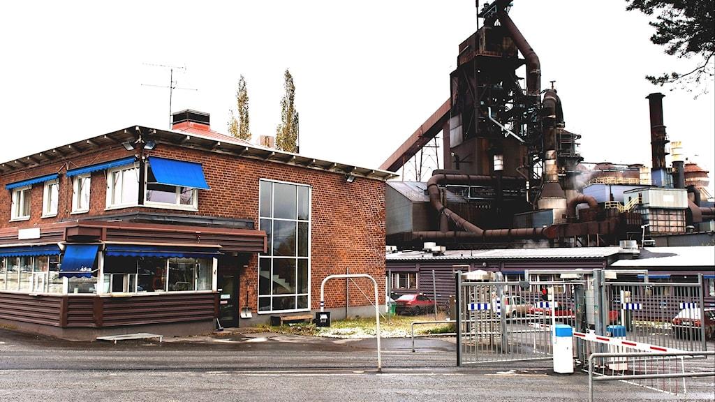 SSAB i Luleå.