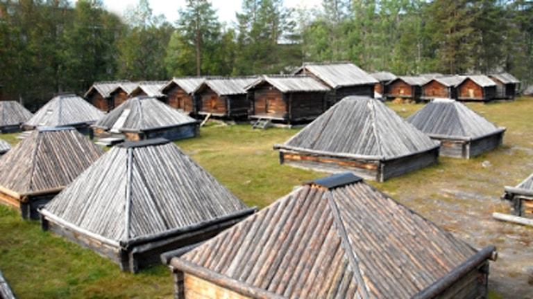 Lappstaden i Arvidsjaur (arkivbild).