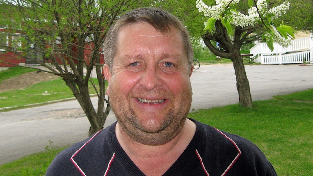 Tomas Mörtberg, rektor vid Tornedalens folkhögskola. Foto: Reine Sundkvist/Sveriges Radio.