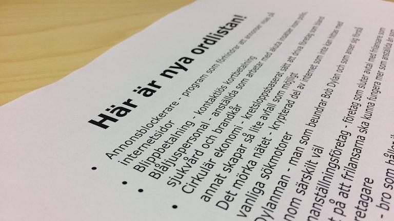 Språkrådets nya ordlista är här.