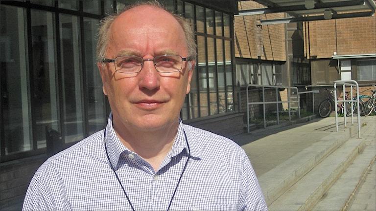 Roger Lindmark, Vattenfall. Foto: David Zimmer/Sveriges Radio.
