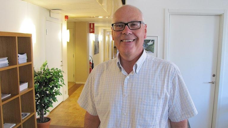 Lars-Olov Söderström är VD för Norrlandsfonden. Foto: Linnea Luttu/Sveriges Radio