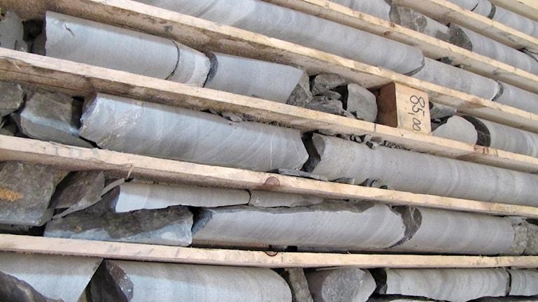 Över 33 000 meter borkärnor finns från Copperstones områden i Arvidsjaur.
