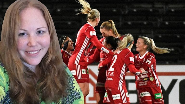 Frida Lundström är en trogen supporter till Piteå.
