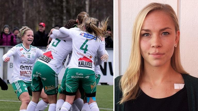 Frida Jacobsson i Assi IF.
