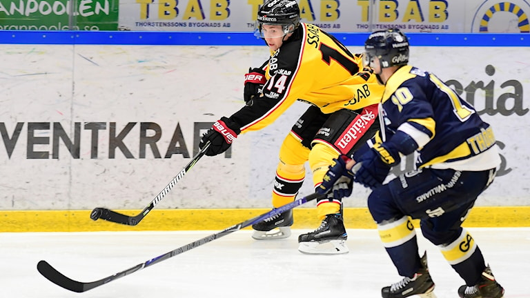 HV71 vann stort mot Luleå.