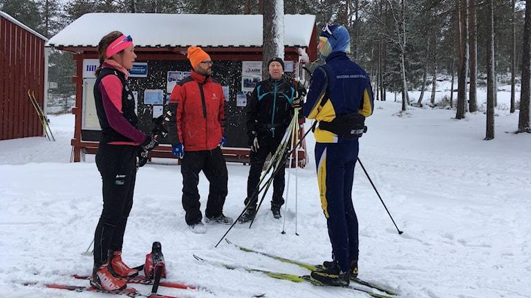 Glenn Robarth arbetsledare Luleå kommun skidspår Ormberget längdåkning