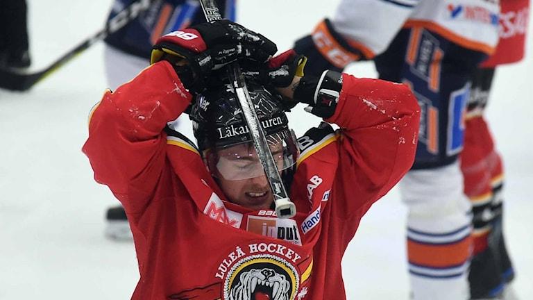 Luleå Hockeys Johan Forsberg.