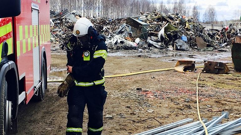 Brandplatsen i Boden