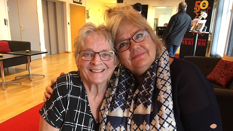 Sara Arnia och Karin Parrot Jonzon
