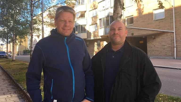 Lars Spolander och Lars-Åke Frans från Norra Sunderbyn.