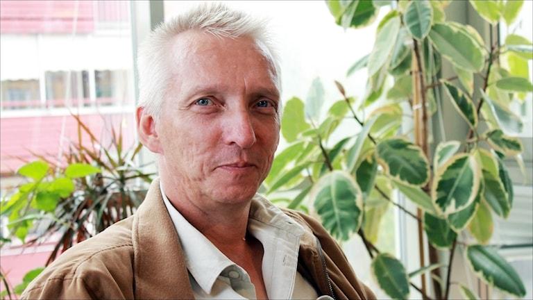 Birger Lahti (V). Foto Stig-Arne Nordström/Sveriges Radio.