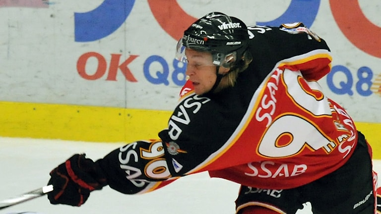 Johan Harju, Luleå Hockey. Foto: Alf Lindbergh/Pressbilder.