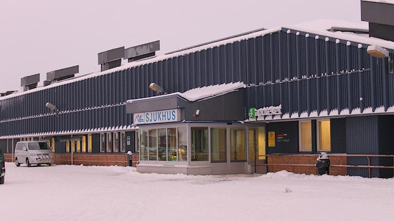 Kiruna sjukhus. Foto: Anneli Lindbäck/Sveriges Radio