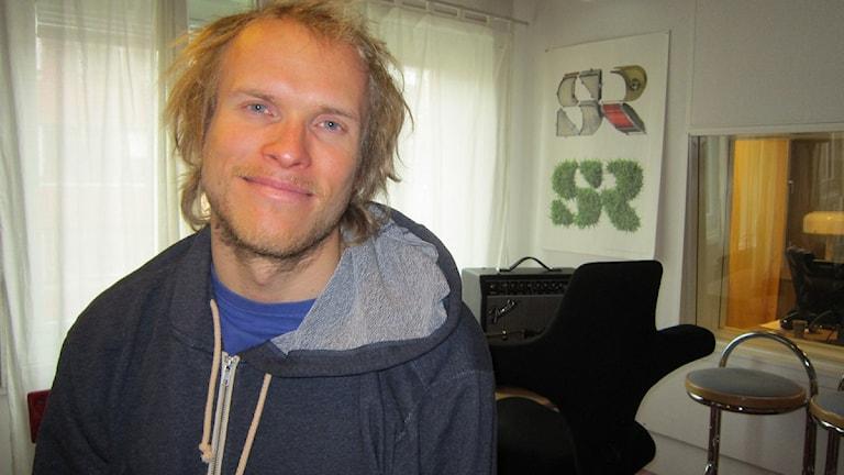 Andreas Fransson från Luleå, Årets manliga äventyrare 2011. Foto: Lena Callne/Sveriges Radio