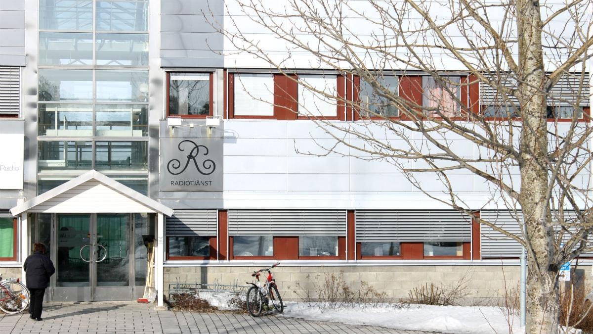 Radiotjänst i Kiruna. Foto: Alexander Linder/ Sveriges Radio.