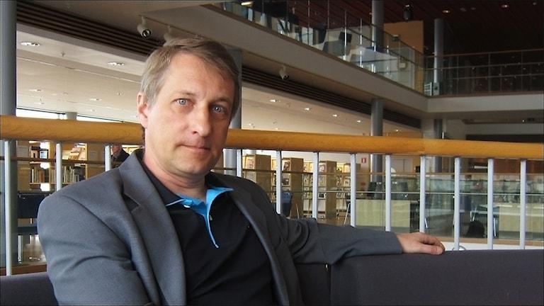 Krister Hammarbergh (M). Foto Stig-Arne Nordström/Sveriges Radio.