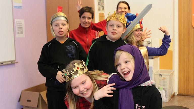 Arkivbild: Barn hietaniemi friskola. Foto: Ida Brännström/ Sveirges Radio