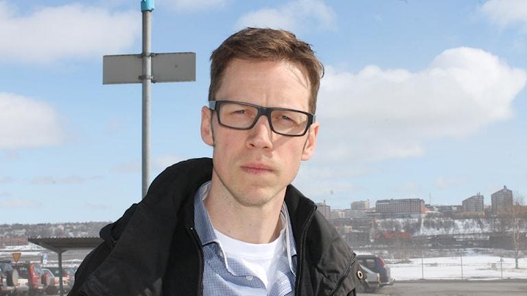 Länsstyrelsen anmäler LKAB för misstänkt brott i Svaapavaara. Anders Lindberg är informationschef LKAB. Foto: Anneli Lindbäck/Sveriges Radio