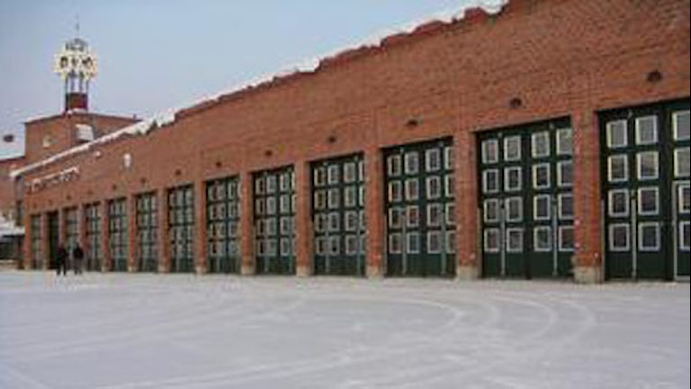 Brandstationen i Kiruna. Foto: Sveriges Radio