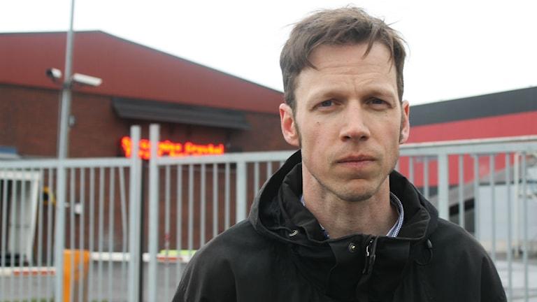 Anders Lindberg är informationschef i LKAB. Foto: ALexander Linder/ Sveriges Radio.