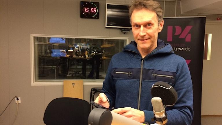 Lars Martinell från NTF i Norrbotten