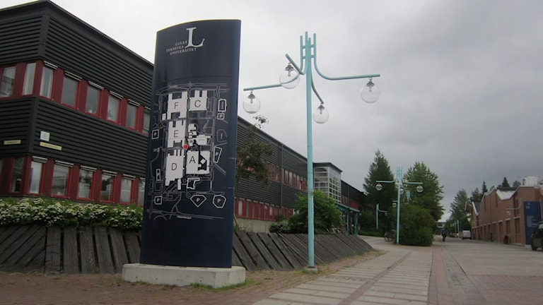 Luleå tekniska universitet. Arkivfoto: Sveriges Radio Norrbotten.