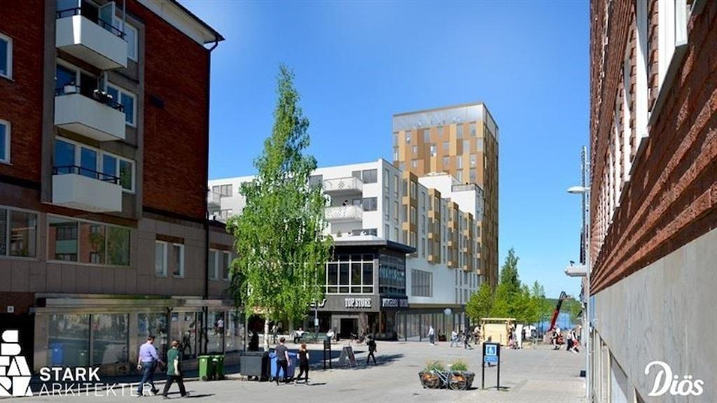 Kvarteret Tjädern, Luleå