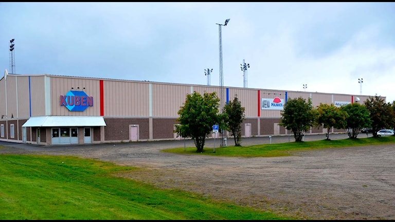 Arena Polarica (eller ishallen Kuben) i Haparanda, Asplövens hemmaarena. Foto: Alf Lindbergh/Pressbilder.