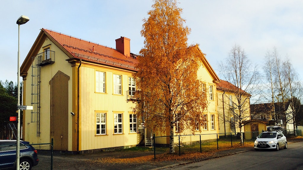 Svartöstadsskolan i Luleå. Foto: Eleonor Norgren/Sveriges Radio.